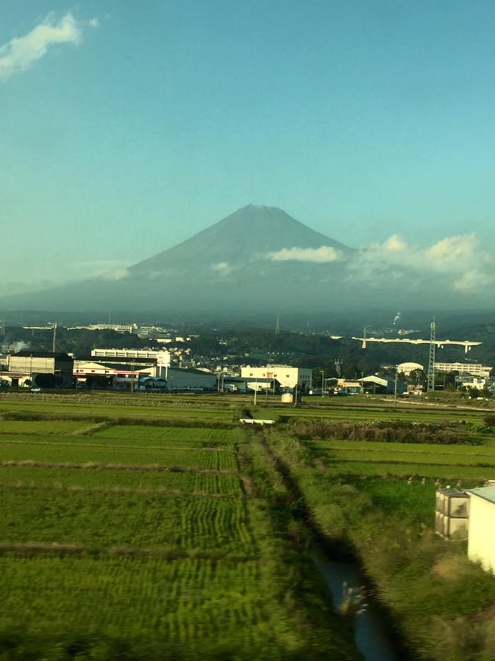富士山初冠雪に思うこと
