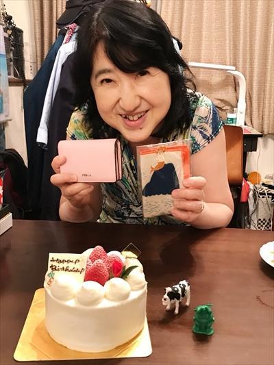 お誕生日でした!!