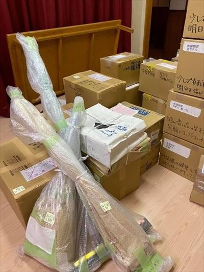 熊本に支援物資を送りました
