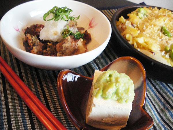 【Fri】鯖煮の竜田揚げ定食