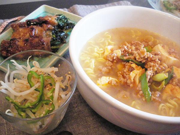 【Thu】麻婆麺定食