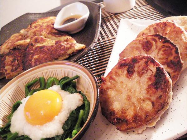 【Fri】肉はさみれんこん定食