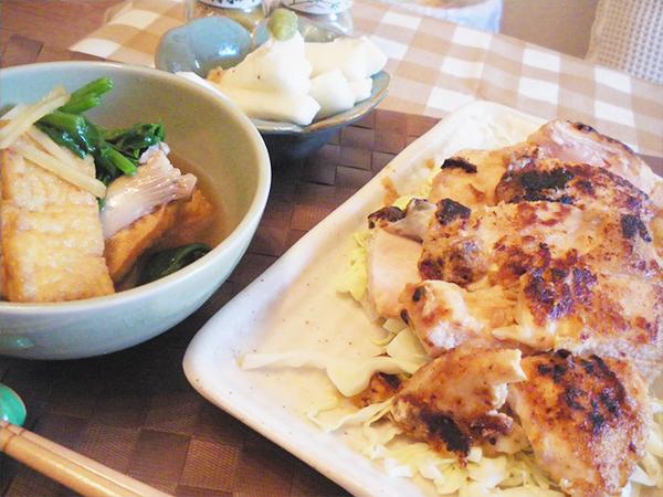 【Mon】鶏むね肉の味噌マヨ定食