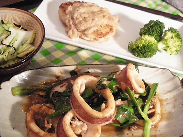 【Mon】豆腐シーチキンバーグ定食