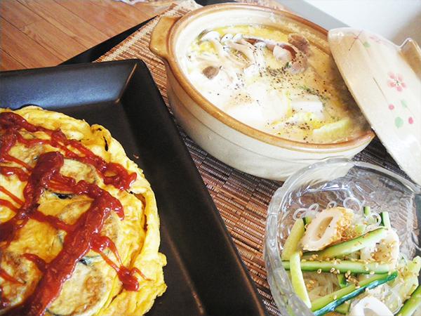 【Fri】豚肉と豆腐の牛乳鍋定食