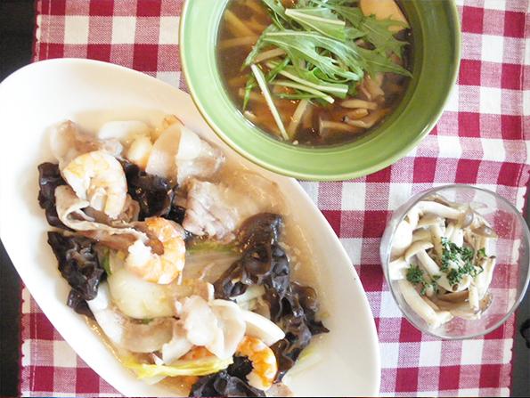 【Wed】塩麹の八宝菜定食