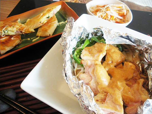 【Fri】味噌マヨチキンのホイル焼き定食