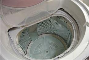 子どものどろんこズックや上履き洗いは、洗たく機。