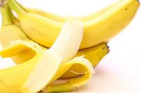 革靴みがきにバナナの皮