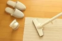 掃除スリッパで、キッチンの床もピカピカ