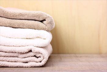 洗たく前のタオルで毎日洗面台の拭き掃除