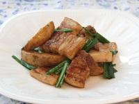 豚バラとポテトの炒め煮
