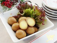 うずら卵のはちみつ煮