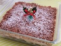 チョコクリームスコップケーキ