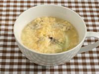 あさりと卵のスープ