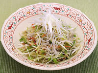 水菜と大根の中華風しょうがあえ