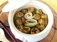 ロール豚キムチ鍋
