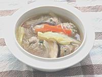 肉団子と春雨のスープ