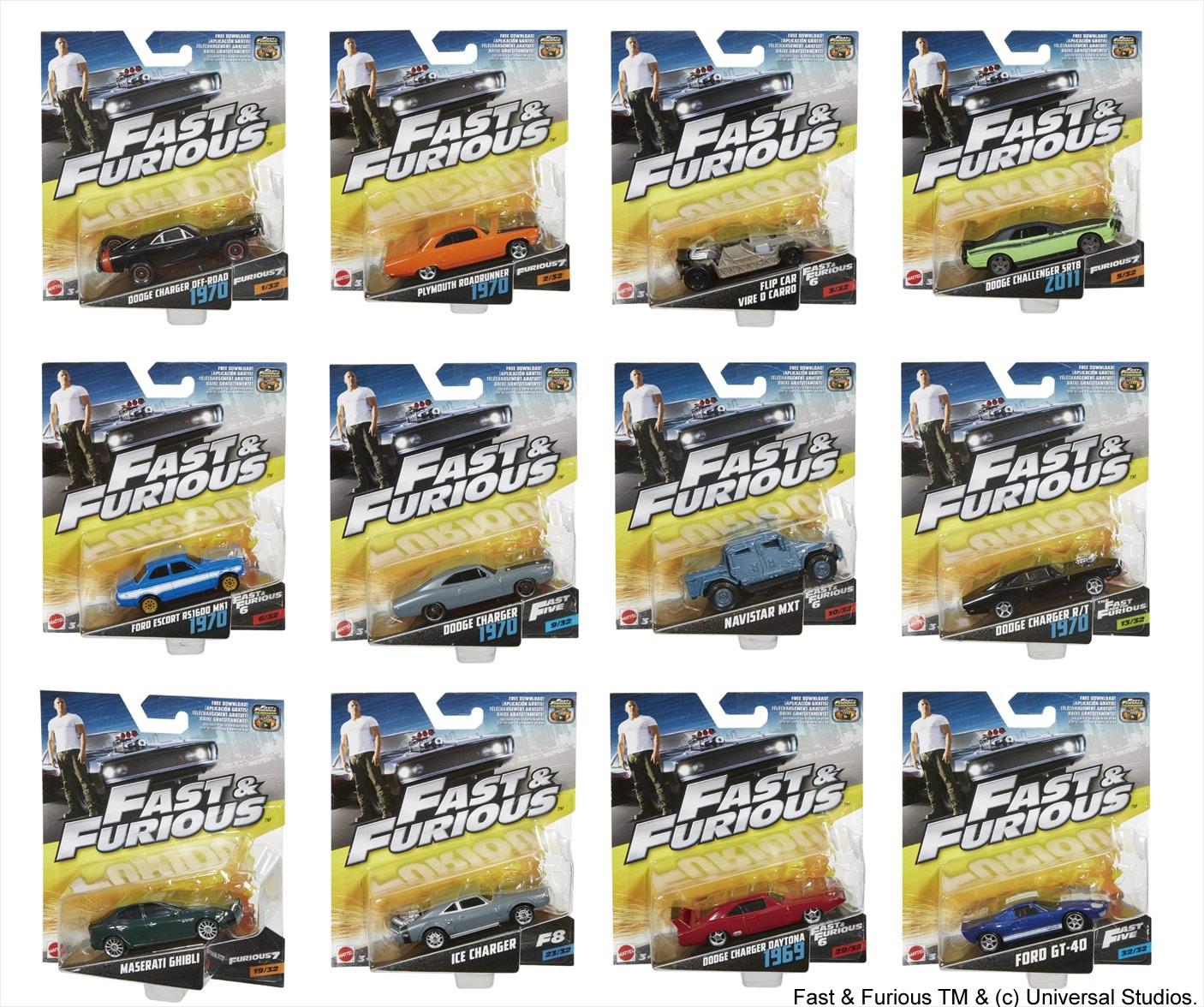 映画『ワイルド・スピード ICE BREAK』 マテル社製1:55スケール ワイルド・スピード ダイジェストカー