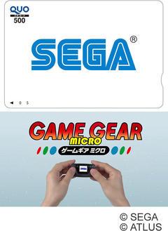 『ゲームギアミクロ』発売記念!セガロゴ入りQUOカード(500円分)