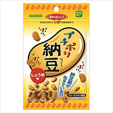 カンロ(株) プチポリ納豆 しょうゆ味